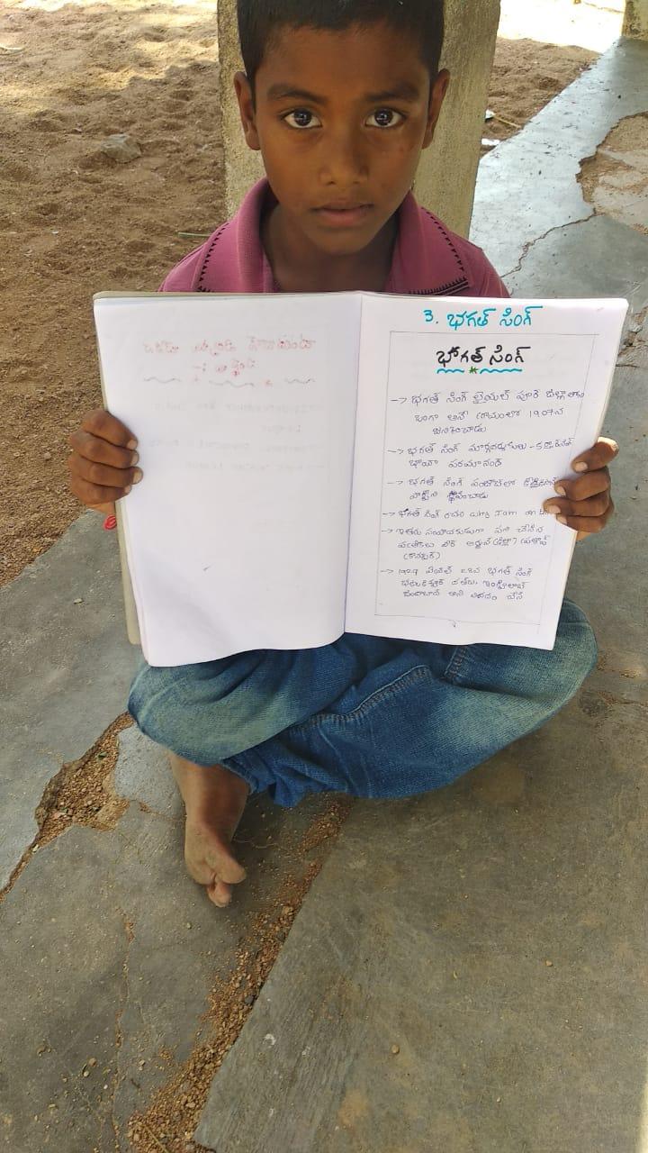 Writeup on Bhagat Singh by EArtH kid